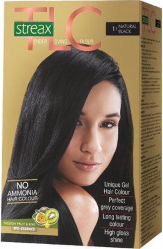 Streax Tender Loving Hair Color(Natural Black 1)