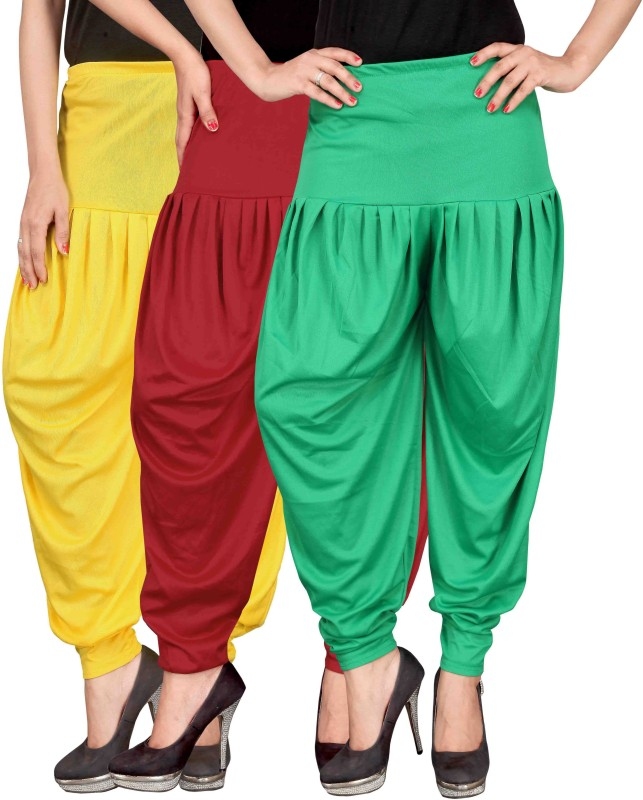 Culture the Dignity Solid Lycra Women's Harem Pants