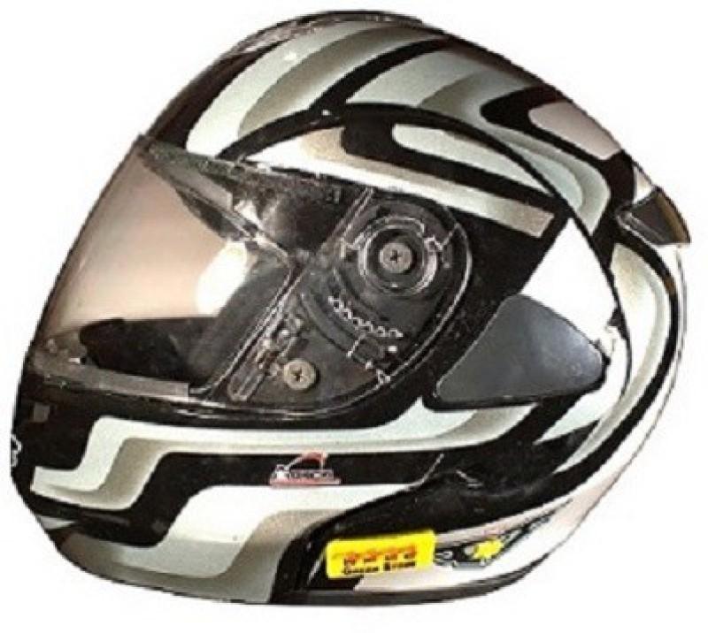 Greenstone Detachable Machine War Bluetooth Helmet Motorbike Helmet(GLOSSY BLACK)