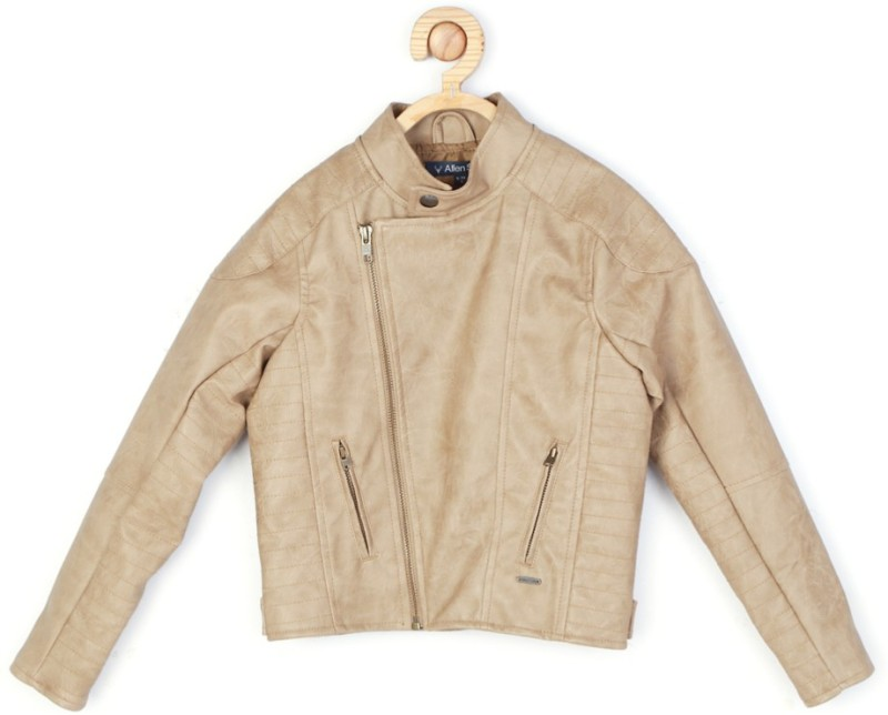 Allen Solly Full Sleeve Solid Boys Jacket