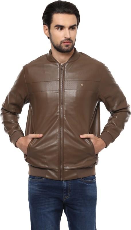 Allen Solly Full Sleeve Solid Men Jacket