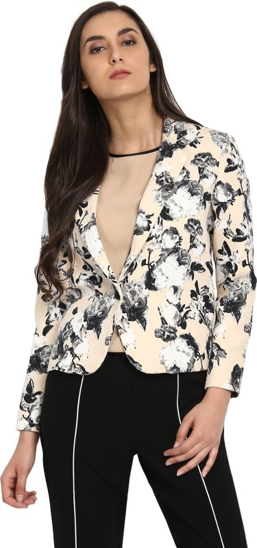 Kazo Full Sleeve Floral Print Women Jacket