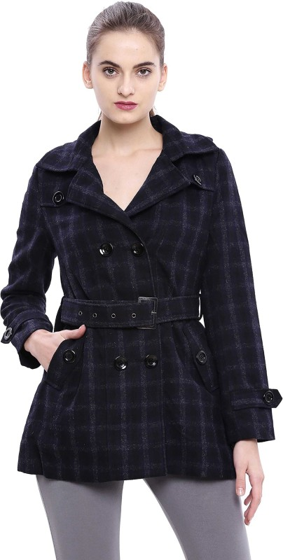 U.S. Polo Assn Full Sleeve Checkered Women Jacket