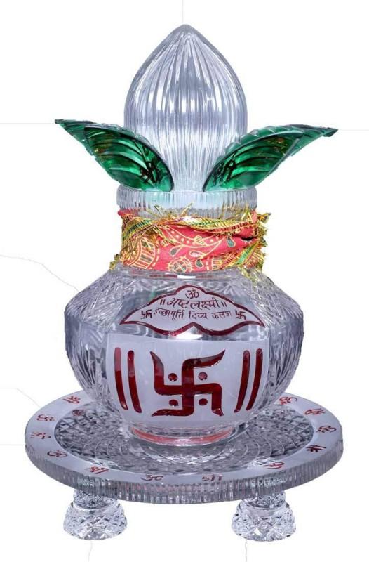 advait divya gyan kendra Crystal Kalash(White)