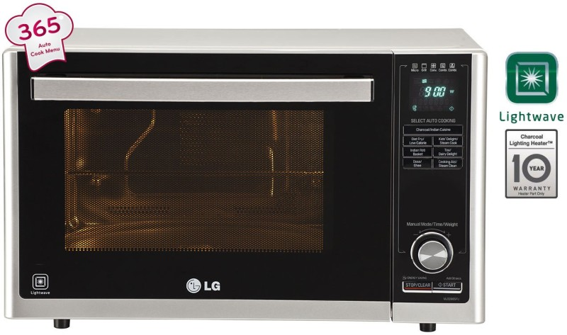 LG 32 L Convection Microwave Oven(MJ3286SFU, Silver)
