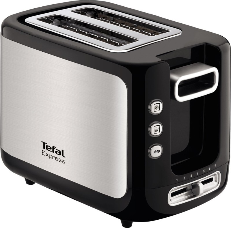 Tefal Express 850 W Pop Up Toaster(Silver)