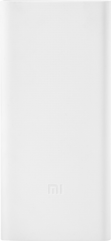 Mi 20000 mAh Power Bank (PLM06ZM, 2i)(White, Lithium Polymer)