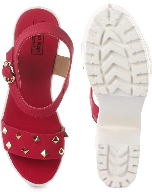 London Steps Women Cherry Heels