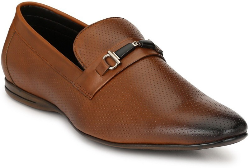 San Frissco EC 8282 Tan 6 Slip On For Men(Tan)