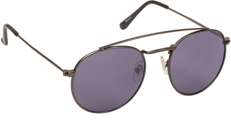 Arzonai Round Sunglasses(Grey) image