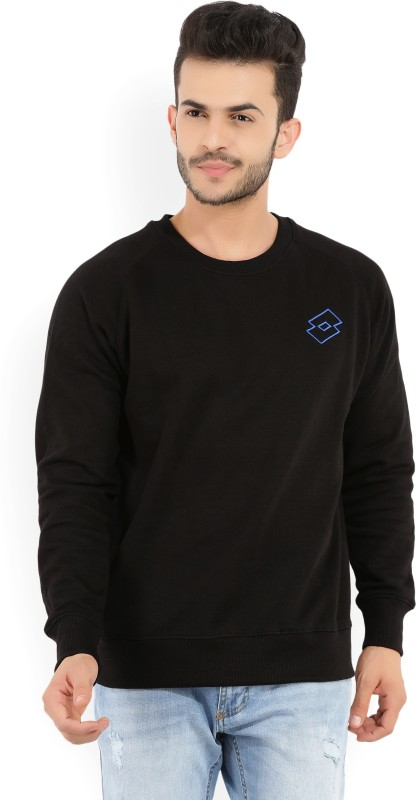Lotto Full Sleeve Solid Men's Sweatshirt