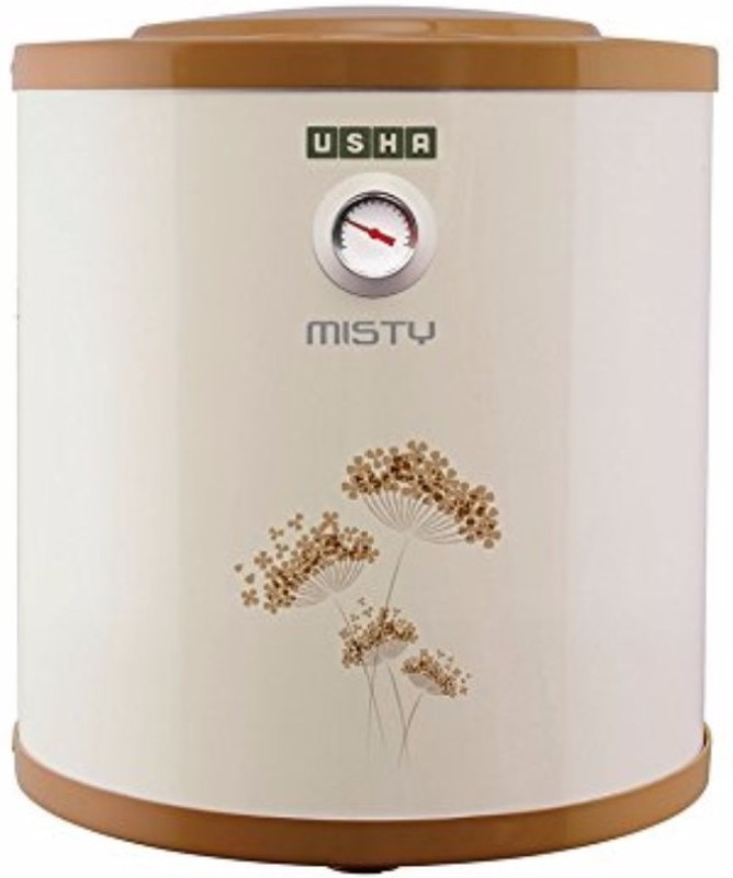Usha 6 L Storage Water Geyser(Gold, Misty 6-Litres 5-Star Rated Storage Water Heater (Ivory Gold))