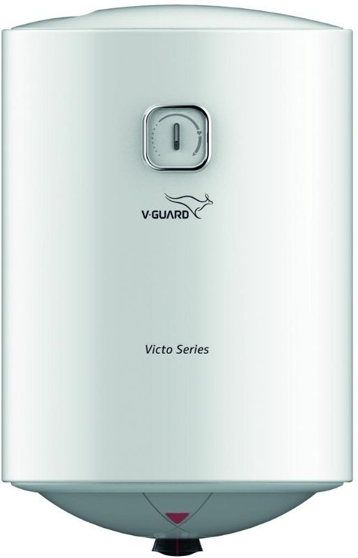 V Guard 15 L Storage Water Geyser(White, Victo)