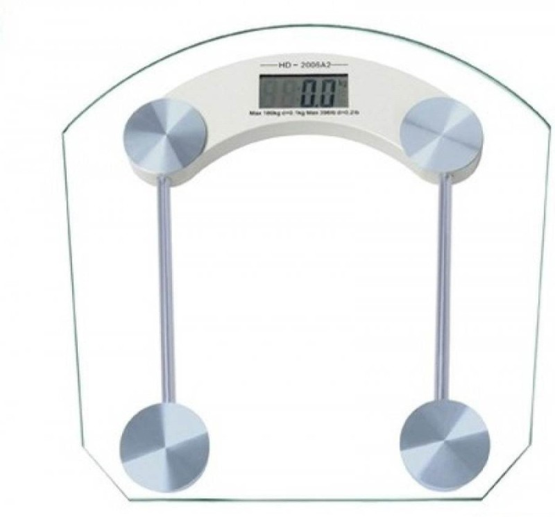 Starvook Square Shape Kanch Weighing Scale(White)