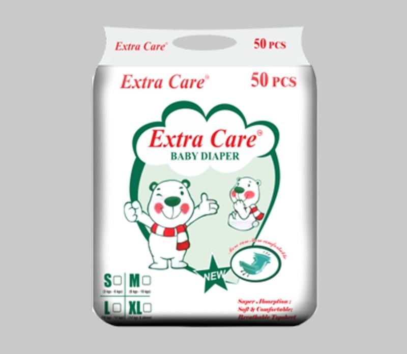 ExtraCare BABY DIAPER - M(50 Pieces)