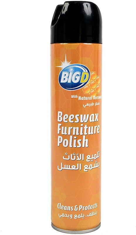 Big D Beeswax Furniture Polish Natural Kitchen Cleaner(300 ml)