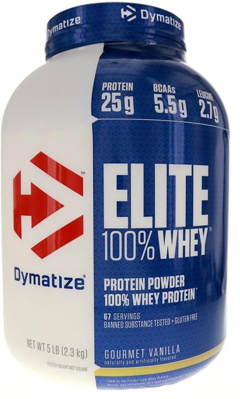 Dymatize Elite 100% Whey Protein(2.3 kg, Gourmet Vanilla)