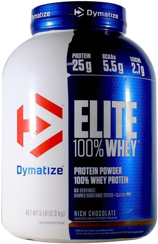 Dymatize Elite Whey 5 Lbs Whey Protein(2.3 kg, Rich Chocolate)