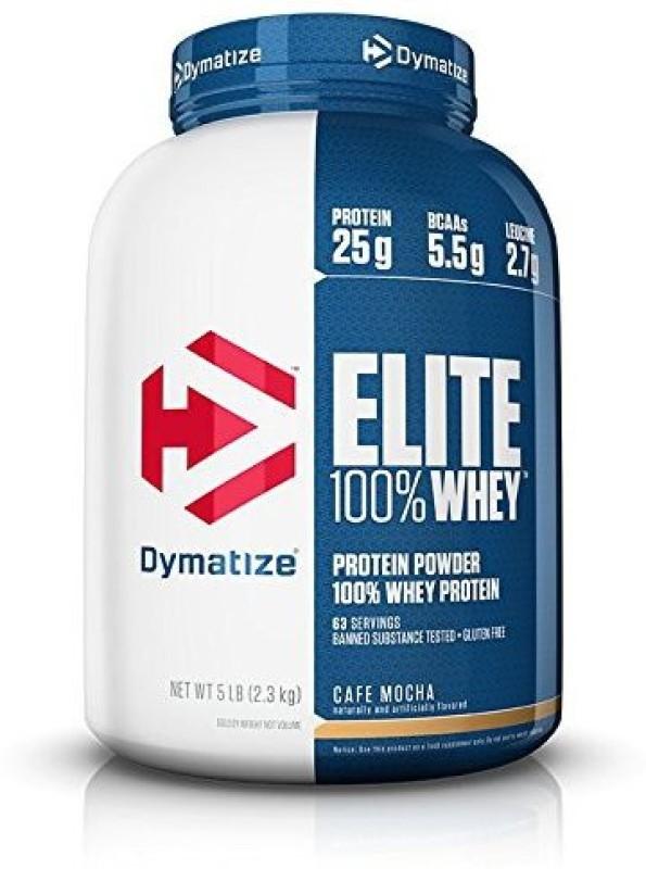 Dymatize Elite Whey Protein(2.3 kg, Caf Mocha)