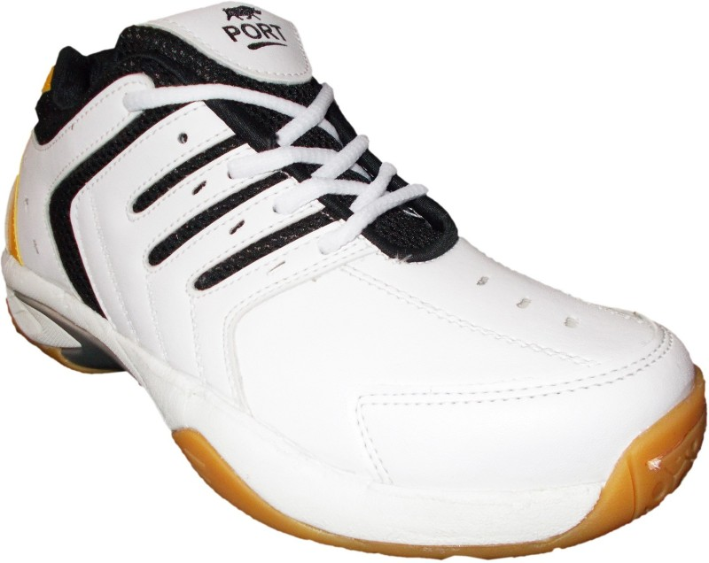 Port Hyper-Cross Badminton Shoes For Women(White)