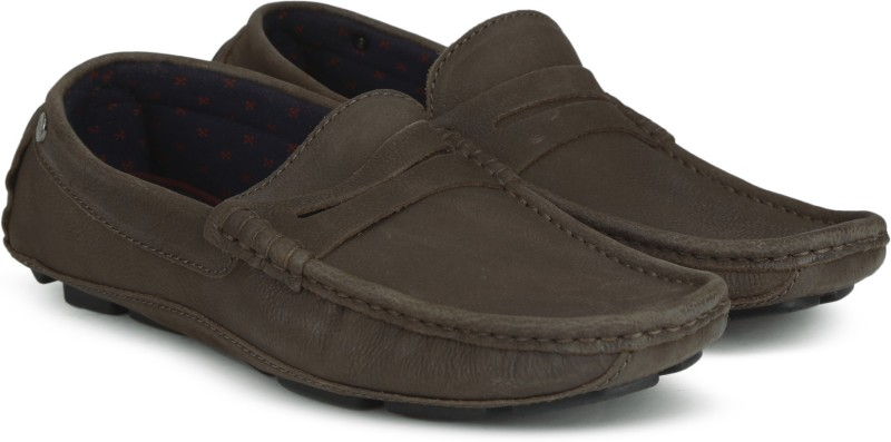 Carlton London CLM-1321 Loafers For Men(Brown)