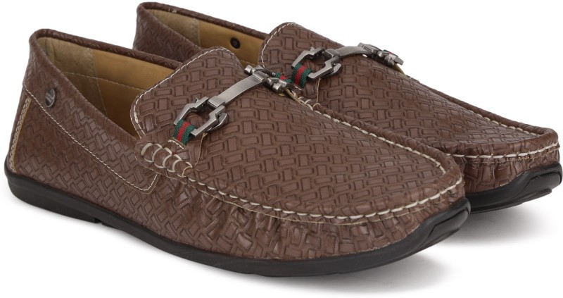Carlton London CLM-1426 Loafers For Men(Brown)