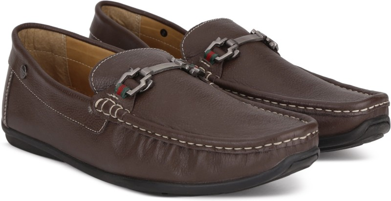 Carlton London CLM-1427 Loafers For Men(Brown)