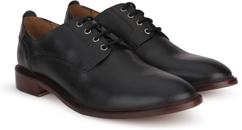 Carlton London CLM-1341 Lace up For Men(Black)
