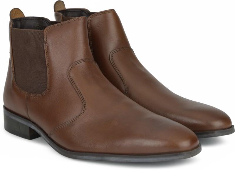 Carlton London CLM-1373 Boots For Men(Tan)
