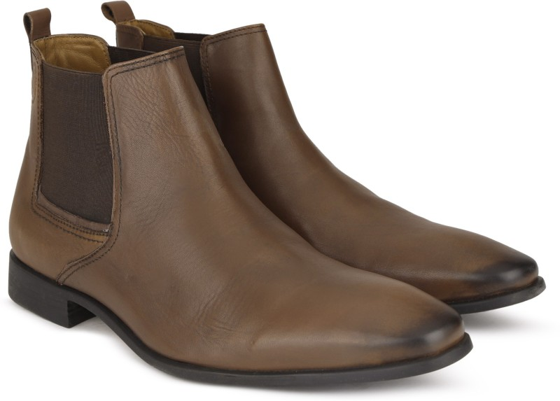 Hush Puppies NEW FRED CHELSEA Boots For Men(Multicolor)