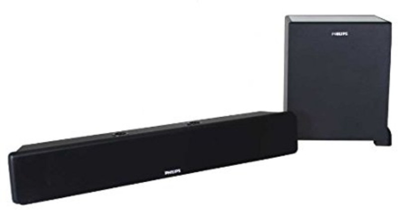 Philips DSP475U/94 40 W Home Audio Speaker(Black, Stereo Channel)