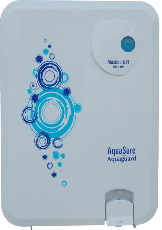 Eureka Forbes Aquasure From Aquaguard Maxima NXT RO+UV+MTDS 6 L RO + UV Water Purifier(White)