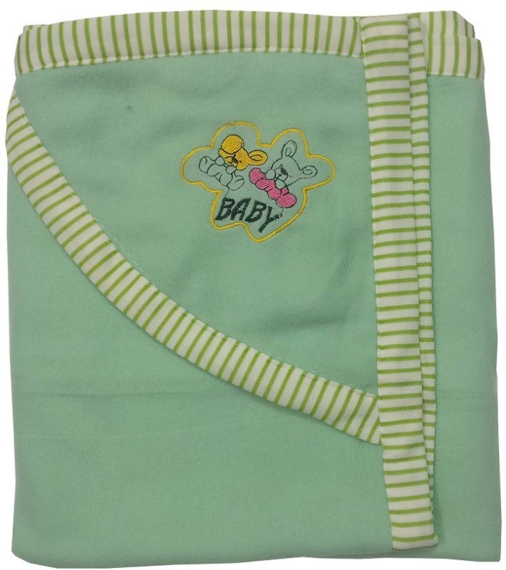 BcH Cotton Terry 200 GSM Bath Towel Set(Green)