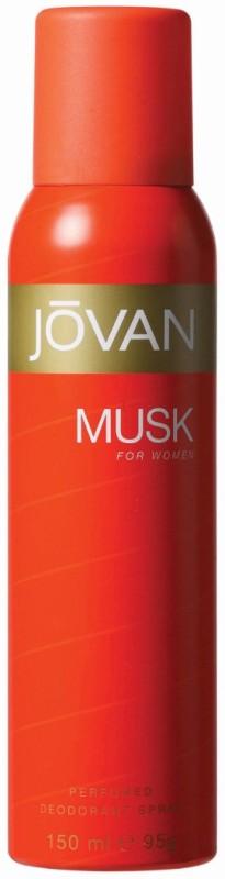 Jovan Musk Body Spray - For Women(150 ml)