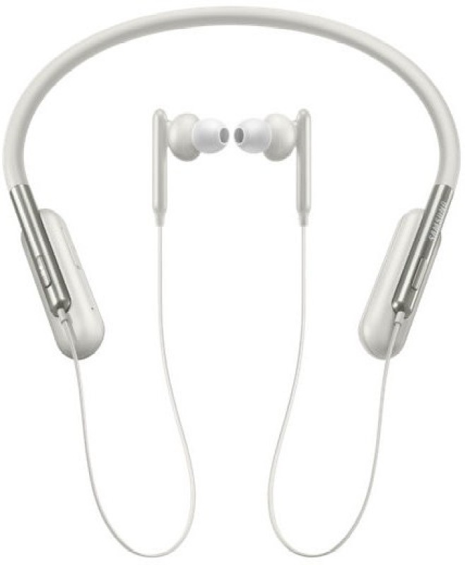 Samsung U Flex Bluetooth Headset with Mic(White, In the Ear)
