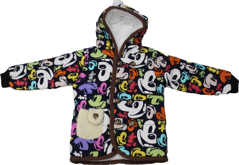 Cheeseling Full Sleeve Printed Baby Boys & Baby Girls Jacket