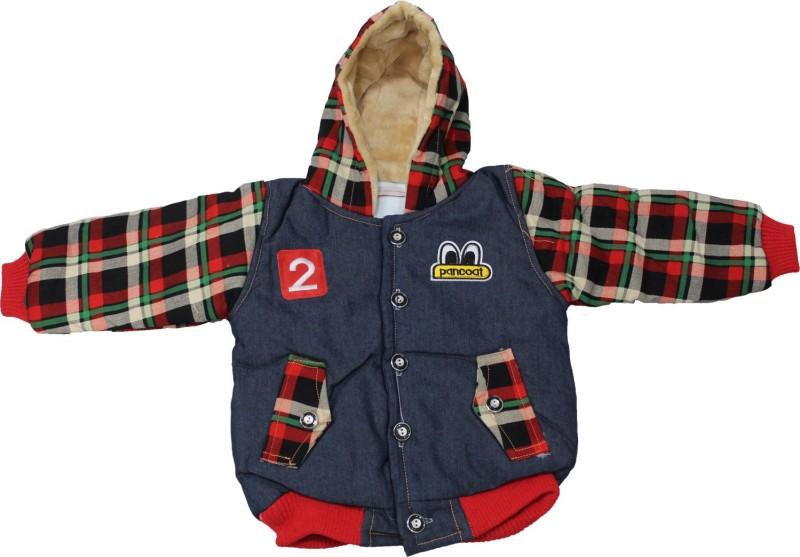 Cheeseling Full Sleeve Checkered Baby Boys & Baby Girls Jacket