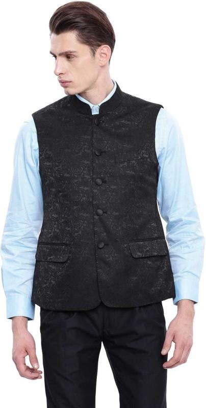 Arrow Sleeveless Solid Men Jacket