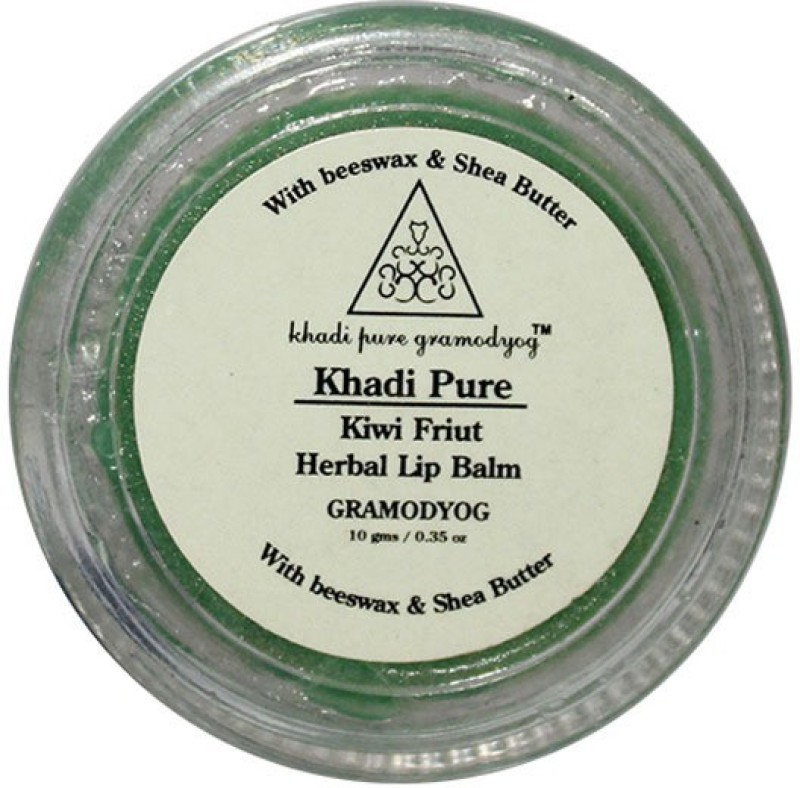Khadi Pure Herbal Kiwi Lip Balm Fruity(10 g)