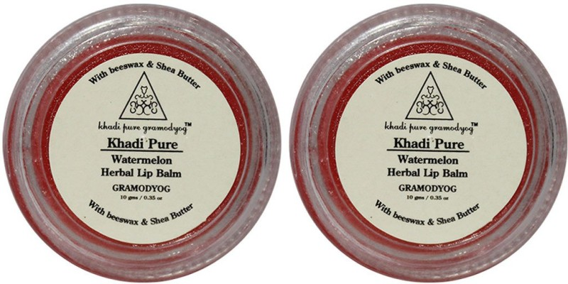 Khadi Pure Herbal Watermelon Lip Balm Fruity(20 g)