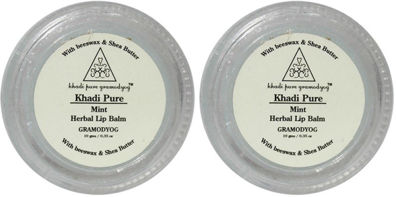 Khadi Pure Herbal Mint Lip Balm Mint(20 g)