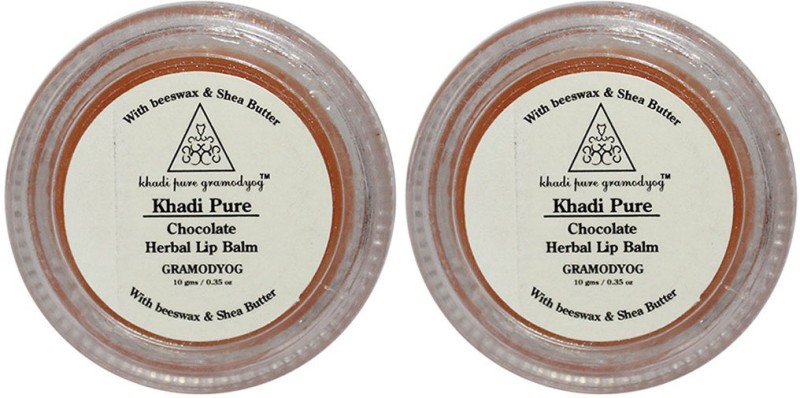 Khadi Pure Herbal Chocolate Lip Balm Chocolate(20 g)