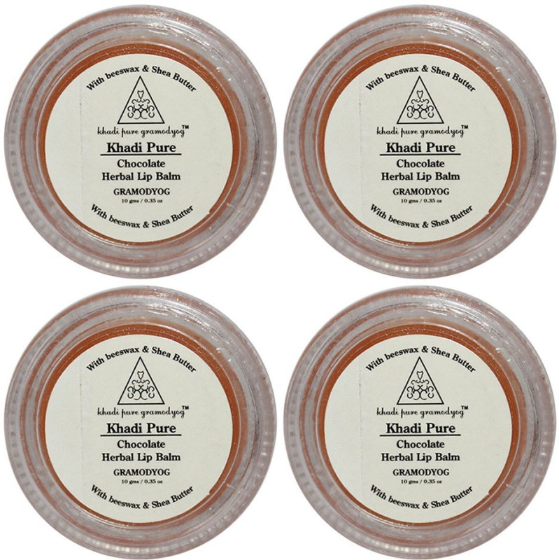 Khadi Pure Herbal Chocolate Lip Balm Chocolate(40 g)