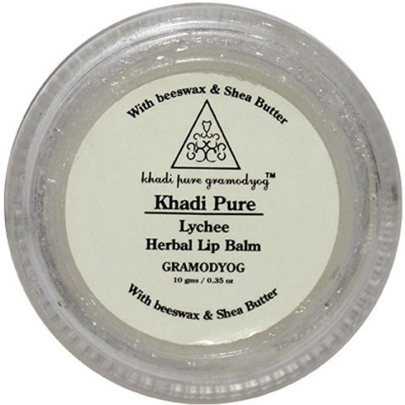 Khadi Pure Herbal Lychee Lip Balm Fruity(10 g)