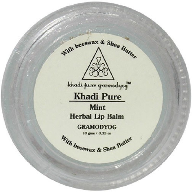 Khadi Pure Herbal Mint Lip Balm Mint(10 g)