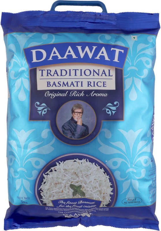 Daawat Traditional White Basmati Rice(5 kg)