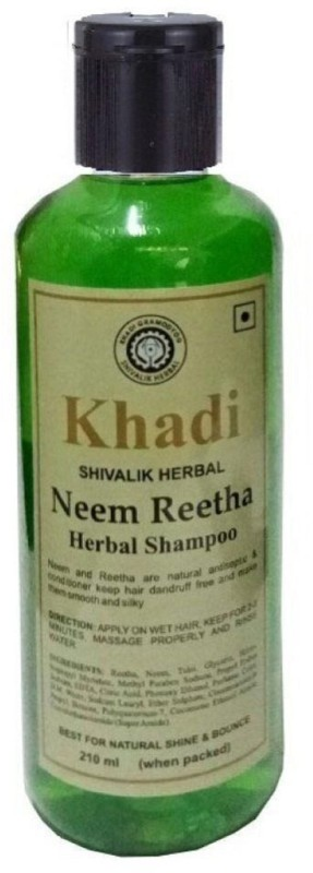 Khadi Shivalik Neem Reetha herbal shampoo(210 ml)