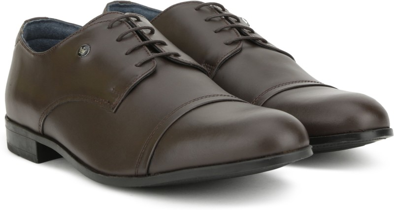 Louis Philippe LPBCL27581 Lace Up For Men(Brown)