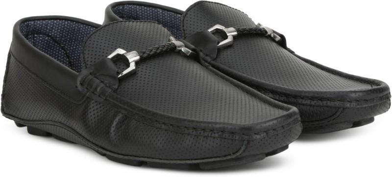 Carlton London CLM-1432 Loafers For Men(Black)