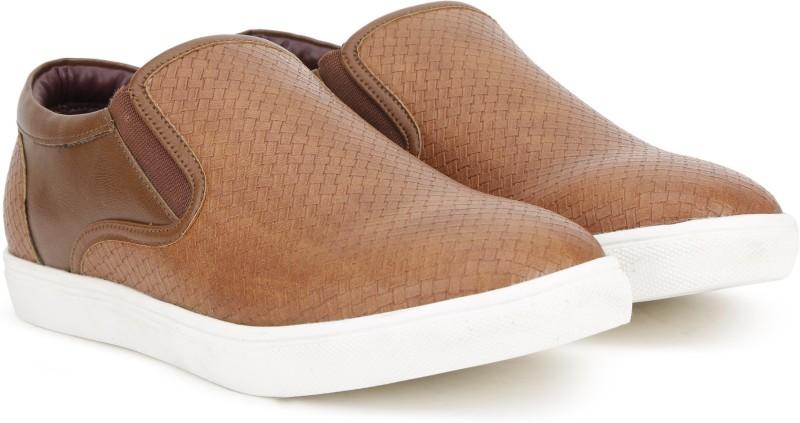Bata KEATS Slip on Sneakers For Men(Tan)